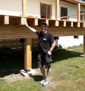 Jon Geirsson menuisier isère grenoble voreppe pose terrasses